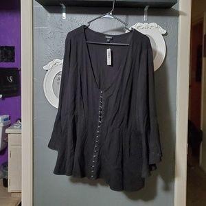Torrid corset top